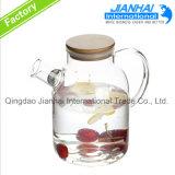 POT di vetro dell'acqua fredda di qualità di Hiqh, brocca di acqua con il coperchio
