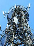 Гальванизированная башня стальной трубы с высоким качеством