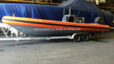 Aqualand 30feet 9m 군 엄밀한 팽창식 배 또는 늑골 경비정 (rib900b)