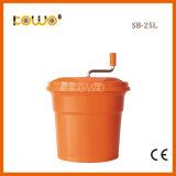 Sb-25L Kom van de Snijmachine van de Hulpmiddelen de Hand Plastic pp van de salade Plantaardige 25L