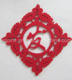 Vendedora caliente de la decoración de la Navidad de fieltro de poliéster Coaster (Coaster-29)