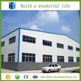 Proyectos de acero de la construcción de edificios del taller de la fábrica del bajo costo