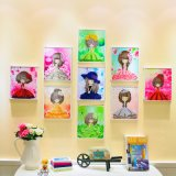 Factory Direct Wholesale Children DIY Crystal Oil Painting Photo Frame Fk-009