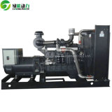 중국 Shangchai 300kw 수소 발전기 침묵하는 유형 디젤 발전기