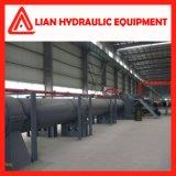 cylindre hydraulique de pétrole de banc de tréfilage de la rappe 27MPa de 10800mm avec la courroie d'emballage