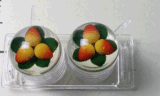 2PCS Glass Seasoning Jar Canister