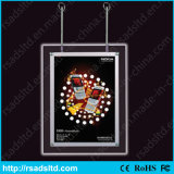 Segno della casella chiara del cristallo LED con il certificato del Ce