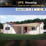 Casa moderna prefabricada certificada SGS con dos dormitorios de Suráfrica