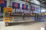 Cortador do plasma do pórtico do CNC para a placa de aço grande