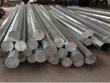 Essai de zinc sur 40ft Pôle 11900mm en acier