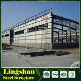 Armazém de construção da construção de aço da fábrica pré-fabricada da construção do frame de aço da alta qualidade