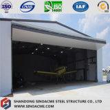 항공기 걸이를 위한 Prefabricated 강철 구조물 건물