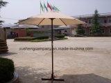Ombrello esterno di legno del giardino del caffè della spiaggia del Palo della nuova del patio tonalità di Sun