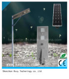 luz de calle solar integrada de 60W LED con alto brillo