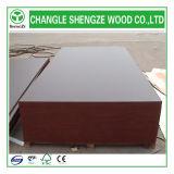 Hardwood vermelho Core Melamine Plywood para Construction