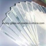 明るいガラスからの低鉄ガラスの超明確なガラス