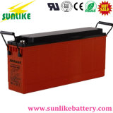 12V100ah Deep Cycle Front Terminal Telecom Gel Battery 3 anos Garantia