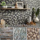Pizarra natural del precio mejor de la fábrica caliente / mosaico de mármol para la decoración de la pared