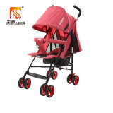 De lichtgewicht Kinderwagen van de Wandelwagen van de Baby van het Frame van het Staal met de Wielen van EVA