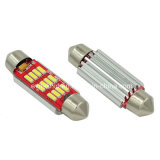 Festone LED 39mm di Canbus 4014 indicatori luminosi di 10SMD 12-24V LED per l'automobile