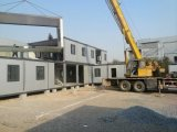 調節のための現代プレハブの容器の家