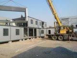 Casa moderna de contenedores prefabricados de alojamiento