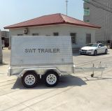 Top Trailer 또는 Canopy Trailer/Tandem Trailer (SWT-TTT85) 소매 상인