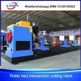 Professionnels de la flamme de plasma d'usine de métal Machine de découpe CNC de tuyaux en acier