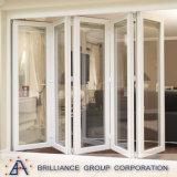Алюминиевый корпус из алюминия Bi-Folding Bi-Folding двери и двери с двойным стеклом