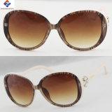 2017 óculos de sol de venda quentes do plástico do frame das mulheres