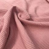 Tela de nylon tingida do poliéster de rayon para o vestuário do vestido da mulher