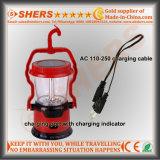 Портативный солнечный свет 8 SMD СИД с электрофонарем 1W СИД (SH-1972B)