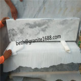 Мраморный плитка для плитки стены настила пасмурной серой мраморный