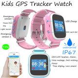 Wasserdichte Echtzeitüberwachung der Kinder IP67 GPS-Verfolger-Uhr-GPRS (Y5W)
