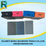 Пусковые площадки диаманта Romatools полируя пусковых площадок руки