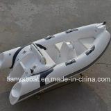 Liya China 2018 aprovado pela CE 3,8 m de barco de costela de barco de fibra de vidro