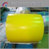 Shandong CGCC PPGI a enduit la bobine d'une première couche de peinture en acier galvanisée