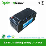 Batería de litio excelente del funcionamiento que comienza 24V para el coche