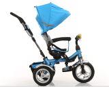 China-Qualitäts-Baby-Spaziergängerpram-Kind-Dreiradfahrt auf Auto