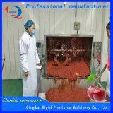 Viande et malaxeur végétal bourrant le mélangeur