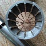Het perfecte Scherm Van uitstekende kwaliteit van Johnson van de Draad van de Wig van Roestvrij staal 316 van de Rondheid