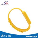 Les bracelets de silicium d'IDENTIFICATION RF de qualité imperméabilisent les bracelets Ntag203/213/216 de NFC