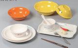 Ensemble de vaisselle en mélamine Plat à plat Plat