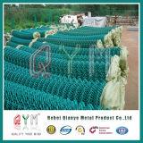 Пластичные Coated крен загородки сетки/загородка звена цепи для здания