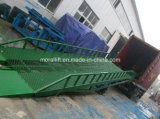 Rampe en acier mobile de remorque de charge lourde portative hydraulique