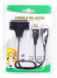 USB 2.0 pour câble adaptateur SATA+protecteur Anti-Shock cas