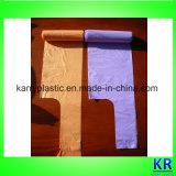 Мешки отброса Polybags несущей тельняшки HDPE с ручкой связи