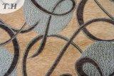Tela musulmán del sofá del Chenille del color del café (fth31810A)