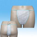 Ropa interior no tejida Desechables Sexy Tanga G-String Briefs para hombres