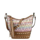 Nuova borsa della spalla delle donne del jacquard di arrivo Ss16